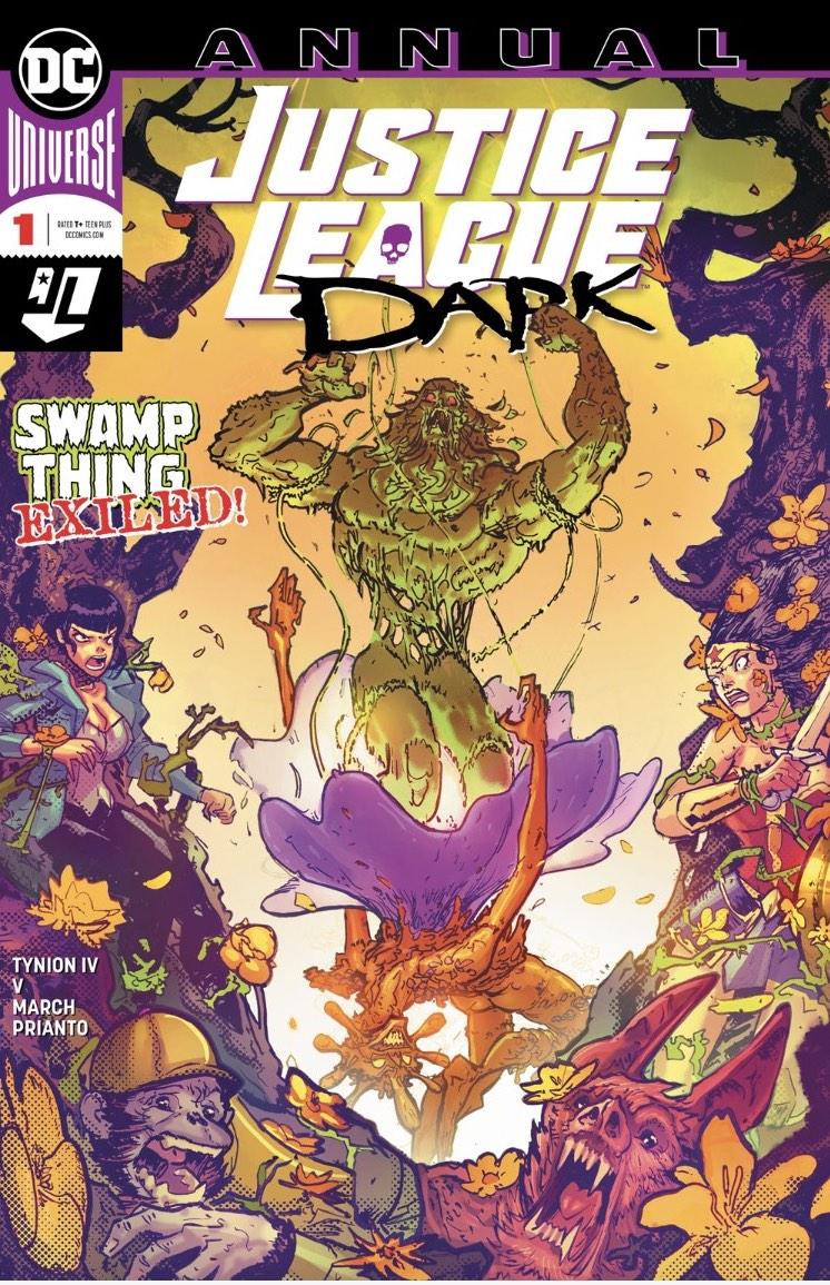 Justice League Dark Annual Cover