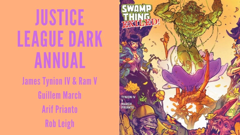 Justice League Dark Annual Feature