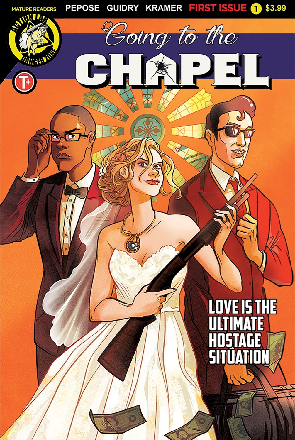Going to the Chapel #1 Cover