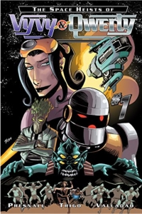 The Space Heists of Vyvy & Qwerty Cover
