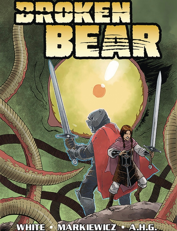 Broken Bear Cover