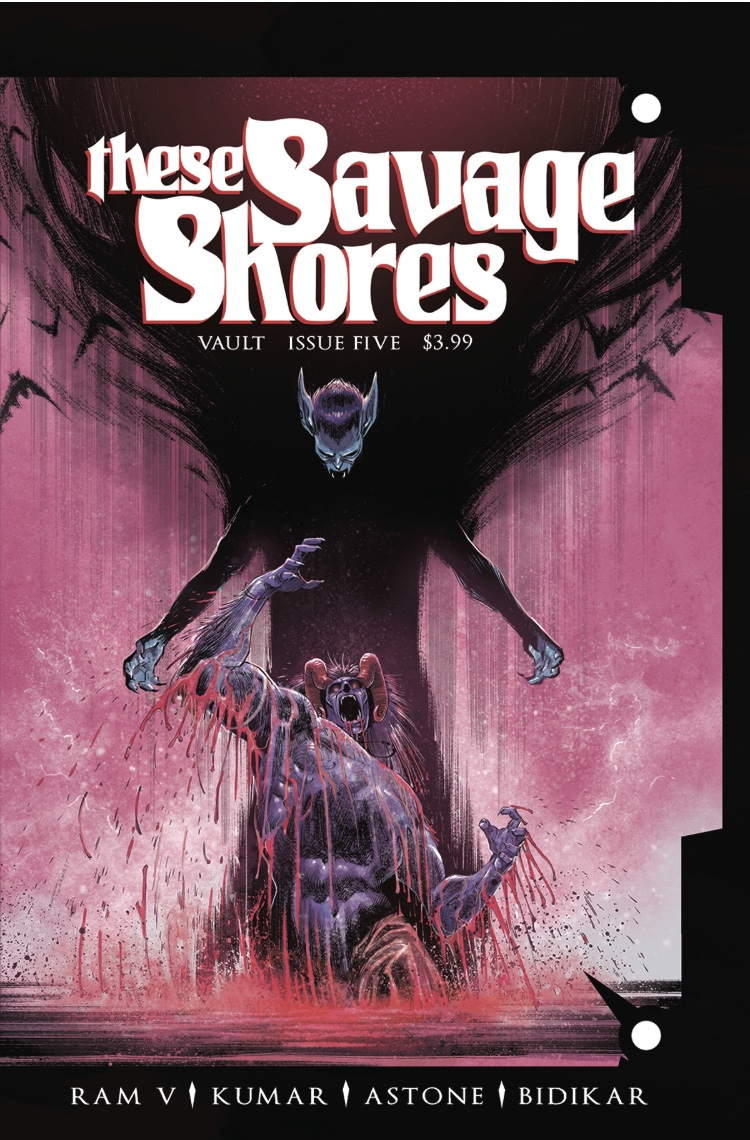 These Savage Shores #5 Cover