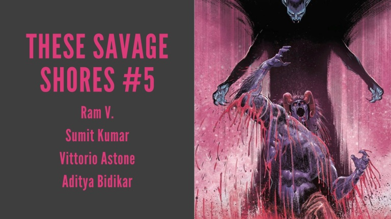These Savage Shores #5 Featured