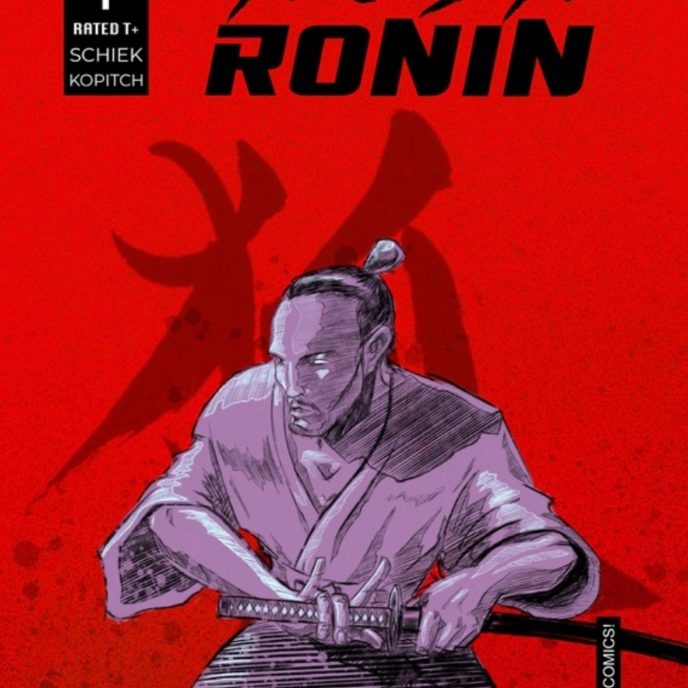 Hush Ronin #1 Cover