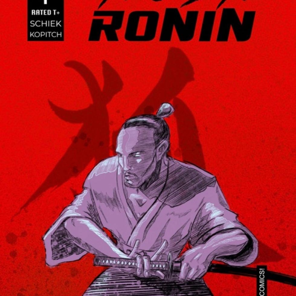 Hush Ronin #1 Cover