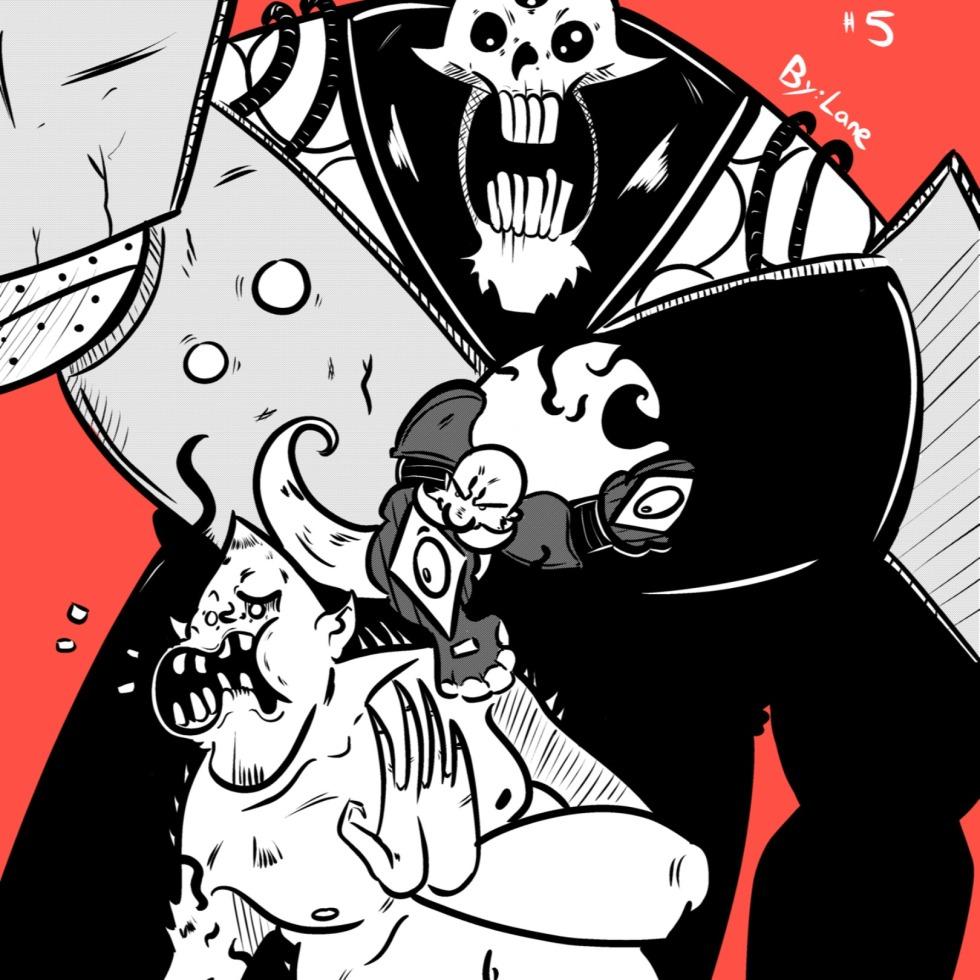 God-Puncher #5 Cover