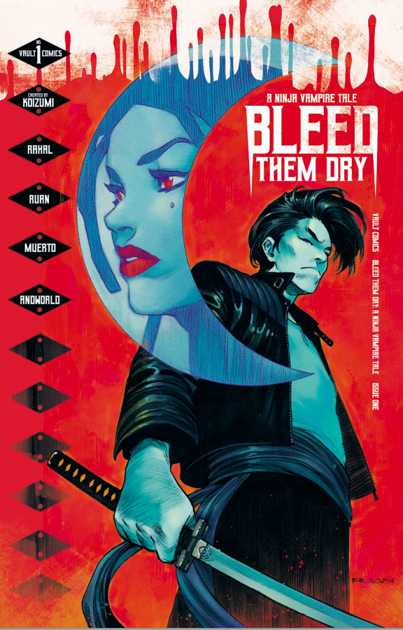 Bleed Them Dry #1 Cover