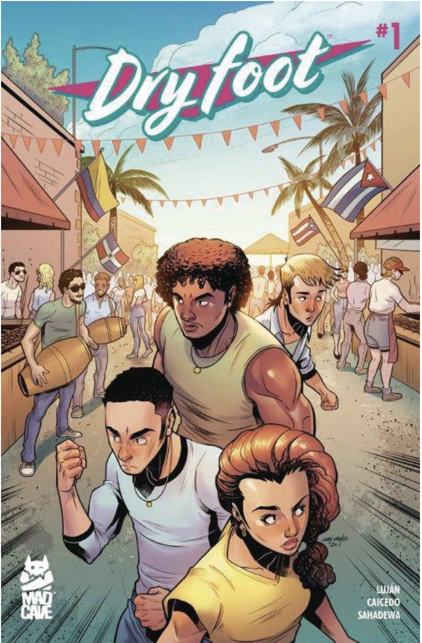 Dry Foot #1 Cover