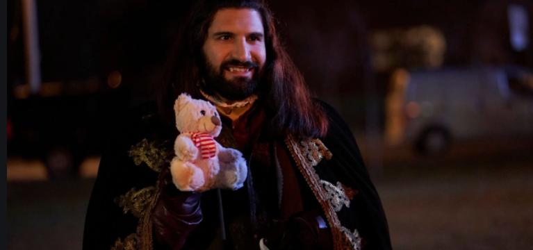 Nandor With Bear