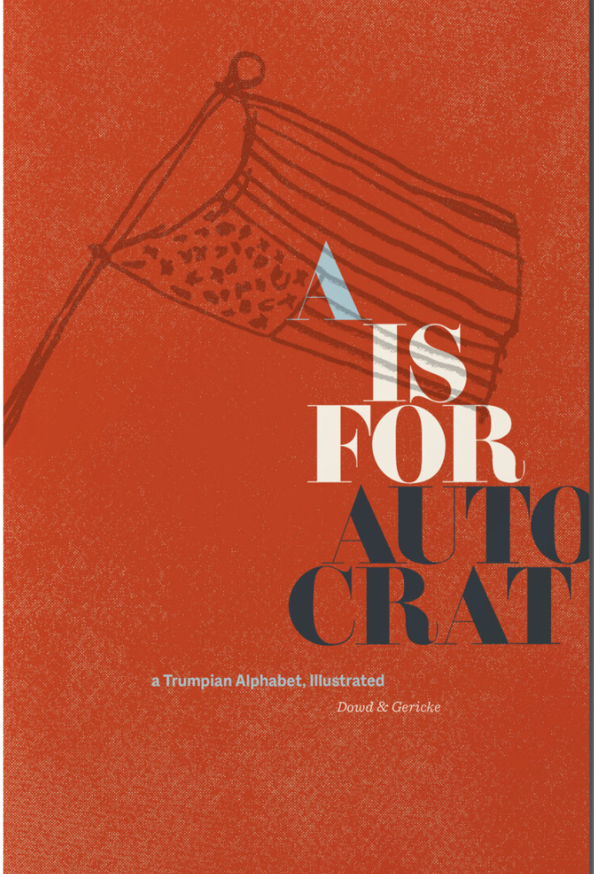 A is for Autocrat Cover