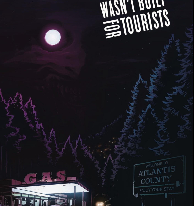 Atlantis Wasn't Built for Tourists #1 Cover