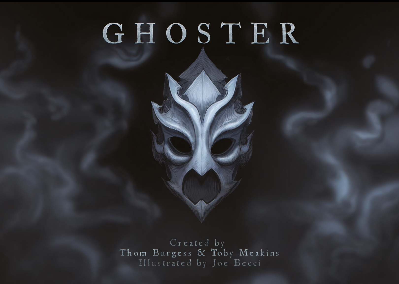 Ghoster Vol. 1 Cover