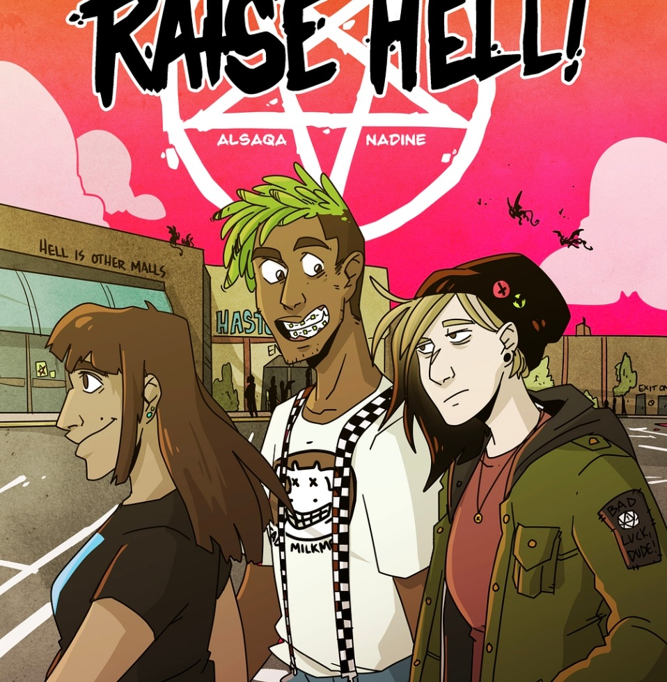 Raise Hell #1 Cover