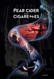 The cover of the graphic novel Pear Cider and Cigarettes